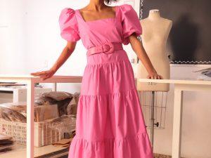 Vestido Pink Victor Dzenk