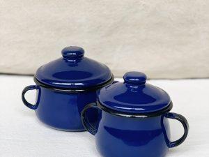 Açucareiro Ágata Azul 10