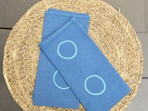 Guardanapo Círculo Azul Medio