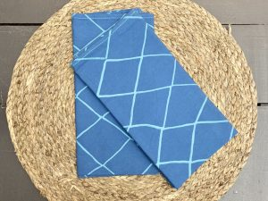 Guardanapo Espinha Azul Médio