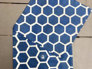 Guardanapo Colmeia Azul
