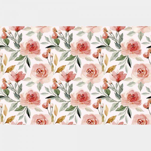 Jogo Americano Floral em Couchê