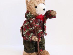 Urso de Natal com Casaco