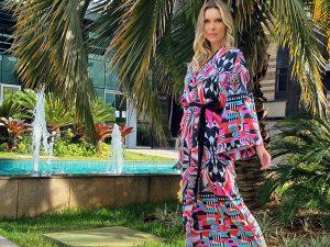 Kimono Longo Estampa Essência