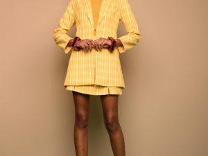 Conjunto Adele Blazer e Saia | Amarelo