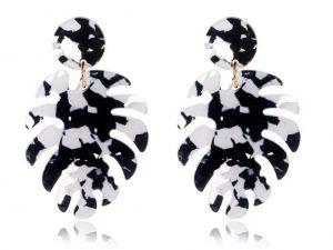 Brinco Costela de Adão Preto & Branco