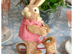 Coelha Bicicleta 35cm